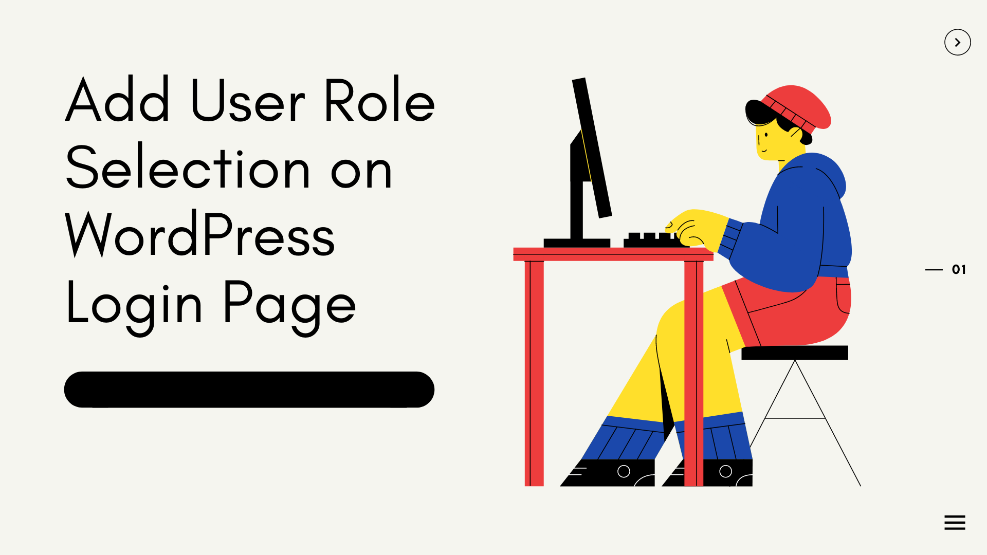 Add User Role Selection on WordPress Login Page